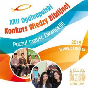 XXII Ogólnopolski Konkurs Wiedzy Biblijnej — etap diecezjalny